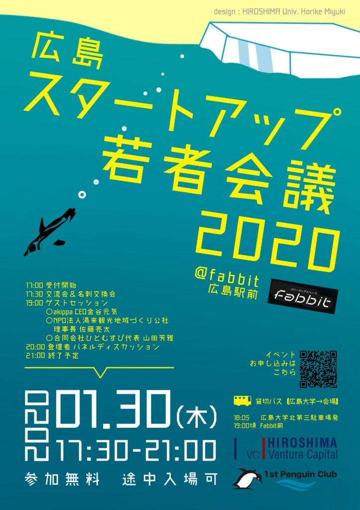 広島スタートアップ若者会議2020